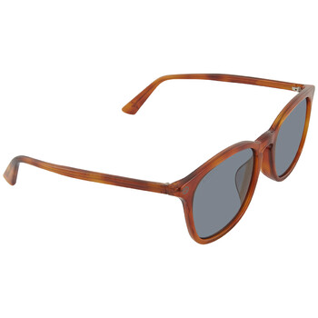 구찌 Gucci Grey Square Unisex Sunglasses GG0154SA 003 53