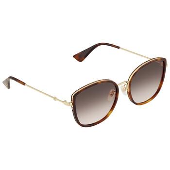 Gucci Gucci Logo GG0606SK Sunglasses - designeroptics.com