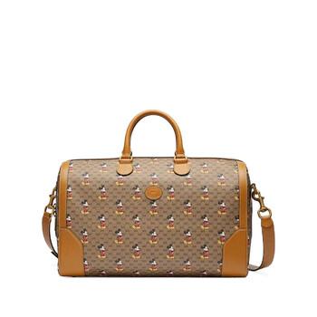 구찌 X 디즈니 콜라보 미키마우스 프린트 더블팩 Gucci Mens Disney Mickey Mouse-print Carry-on Duffle Bag