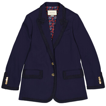 Gucci Single-Breasted Jacket, Brand Size 40