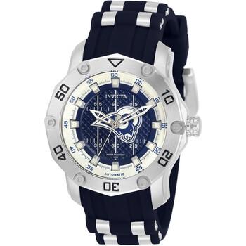 인빅타 시계 Invicta NFL Los Angeles Rams Automatic Blue Dial Ladies Watch 32872