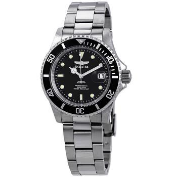 인빅타 시계 Invicta Pro Diver Black Dial Stainless Steel 40 mm Mens Watch 26970