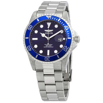 인빅타 쿼츠 시계 Invicta Pro Diver Quartz Blue Dial Stainless Steel Mens Watch 33267