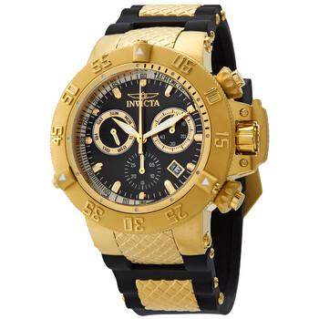 인빅타 시계 Invicta Subaqua Noma Sports Chronograph Black Dial Mens Watch 5514