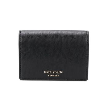 케이트 스페이드 Kate Spade Ladies Black Leather Sylvia Mini Key Ring Wallet