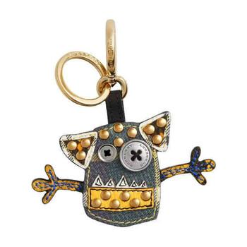 Mens 버버리 Burberry Accessories MGifts & Accs Keyfobs Festive Charms Dk Green Lt Applique Crt M1 Charm