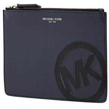 Michael Kors Mens Leather Small Travel Pouch