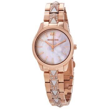 마이클 코어스 시계 Michael Kors Quartz Mother of Pearl Dial Ladies Watch MK6674