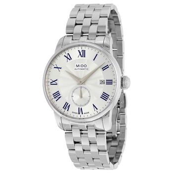 Deals on Mido Baroncelli II Automatic Silver Dial Mens Watch