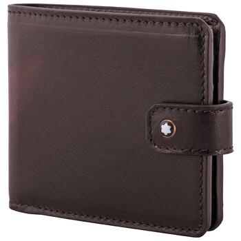 몽블랑 1926 헤리티지 반지갑 Montblanc 1926 Heritage 6CC Wallet- Dark Brown
