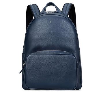 몽블랑 마이스터스튁 백팩 라지 Montblanc Meisterstuck Lagre Soft Grain Backpack - Blue