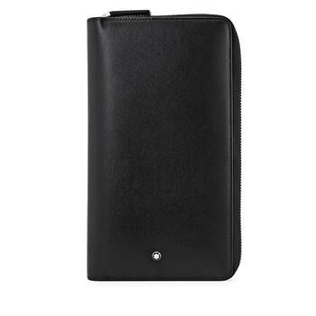 몽블랑 마이스터스튁 트레블 지갑 (선물 추천) Montblanc Meisterstuck Leather Travel Wallet - Black