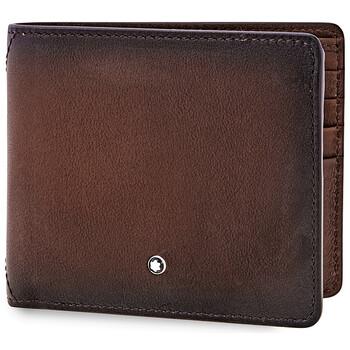 몽블랑 반지갑 Montblanc Meisterstuck Selection Sfumato 8cc Wallet- Brown