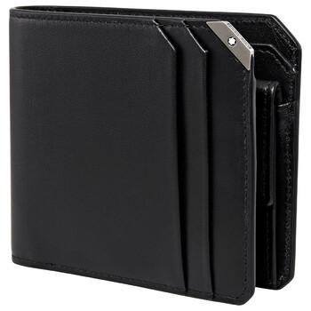몽블랑 마이스터튁 반지갑 (선물 추천, 124094) Montblanc Meisterstuck Urban Unisex Wallet 4cc With Coin Case