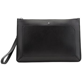 몽블랑 Montblanc Meisterstuck Urban Zip Clutch In Black