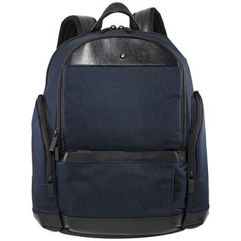 몽블랑 나이트플라이트 백팩 미디움 Montblanc Nightflight Medium Mens Backpack 124147