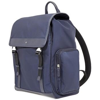 몽블랑 사토리얼 젯 백팩 미디움 Montblanc Sartorial Jet Backpack Medium- Blue