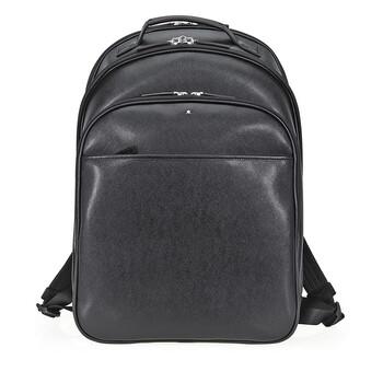 몽블랑 사토리얼 백팩 라지 Montblanc Sartorial Large Leather Backpack - Black
