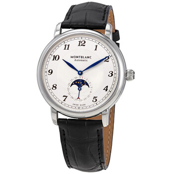 몽블랑 Montblanc Star Legacy Automatic Silver Dial Mens Watch 116508