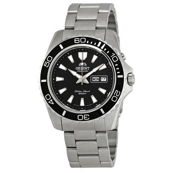 오리엔트 남성 시계 Orient Mako XI Automatic Black Dial Mens Watch FEM75001BR
