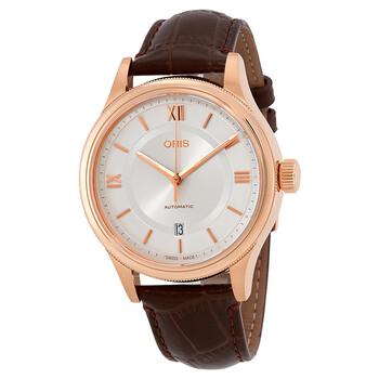 Deals on ORIS Classic Automatic Silver Dial Men's Watch