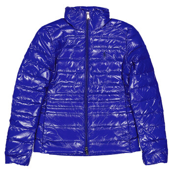 Polo Ralph Lauren Ladies Down Nylon Jacket in Blue, Brand Size X-Small