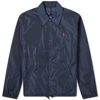 Polo Ralph Lauren Mens Blue Coach Shirt Jacket, Brand Size Small