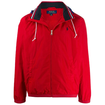 Polo Ralph Lauren Mens Red Amherst Full Zip Jacket, Brand Size Large
