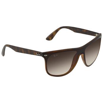 레이밴 스퀘어 선글라스 Ray Ban Blaze Brown Gradient Square Sunglasses RB4447N7101340