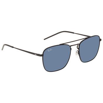 레이밴 스퀘어 선글라스  Ray Ban Blue Classic Square Mens Sunglasses RB358890148055