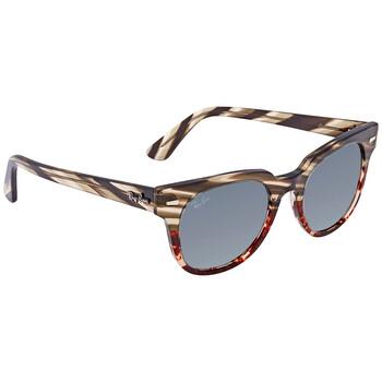 레이밴 스퀘어 선글라스 Ray Ban Blue Washed Square Sunglasses RB2168 1254Y5 50