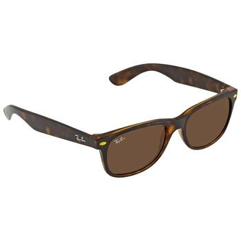 레이밴 스퀘어 선글라스  Ray Ban Brown Classic B-15 Square Unisex Sunglasses RB2132M F60933 55