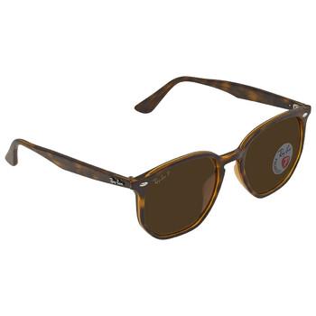 레이밴 스퀘어 선글라스 Ray Ban Brown Square Sunglasses RB4306F 710/8354