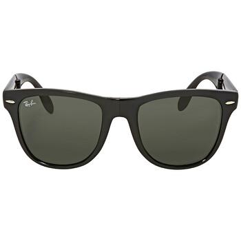 레이밴 스퀘어 선글라스  Ray Ban Green Classic G-15 Square Mens Sunglasses RB4105 601 54