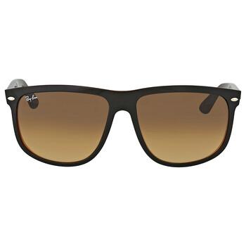 레이밴 스퀘어 선글라스  Ray Ban Highstreet Brown Gradient Square Sunglasses