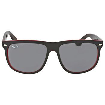 레이밴 스퀘어 선글라스  Ray Ban Highstreet Grey Classic Square Sunglasses