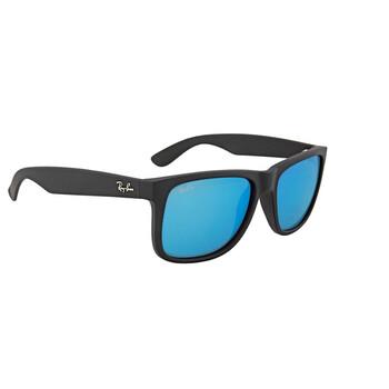 Deals on Ray-Ban Mens Justin Color Mix Blue Mirror Sunglasses