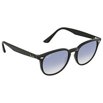 레이밴 스퀘어 선글라스 Ray Ban Light Blue Gradient Square Sunglasses RB4259 601/19 51