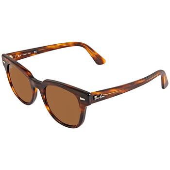 레이밴 스퀘어 선글라스  Ray Ban Meteor Classic Brown Classic B-15 Square Sunglasses RB2168 954/33 50