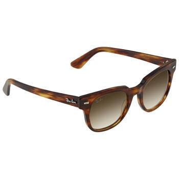 레이밴 스퀘어 선글라스  Ray Ban Meteor Classic Light Brown Gradient Square Sunglasses RB21689545150