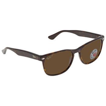 레이밴 스퀘어 선글라스 Ray Ban Polarized Brown Classic Square Sunglasses RB2184 902/5757