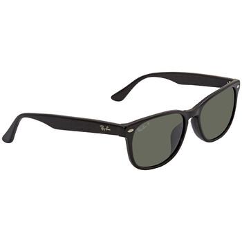 레이밴 스퀘어 선글라스  Ray Ban Polarized Green Classic G-15 Square Sunglasses RB2184F 901/58 57