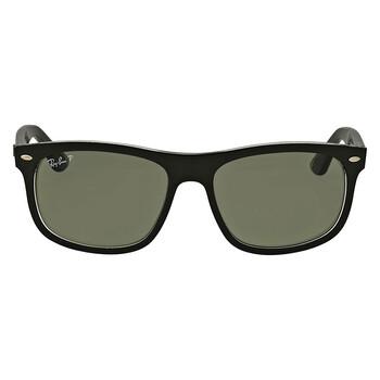 레이밴 스퀘어 선글라스 Ray Ban Polarized Green Classic Square Sunglasses