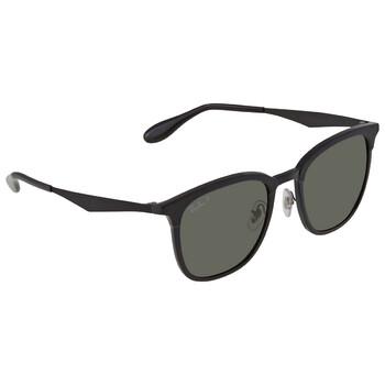레이밴 스퀘어 선글라스 Ray Ban Polarized Green Square Unisex Sunglasses RB427862829A51