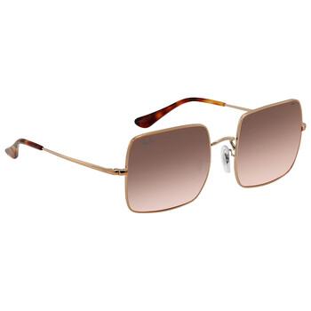 레이밴 스퀘어 선글라스 Ray Ban Square Evolve Red Photocromic Sunglasses RB1971 9151AA 54