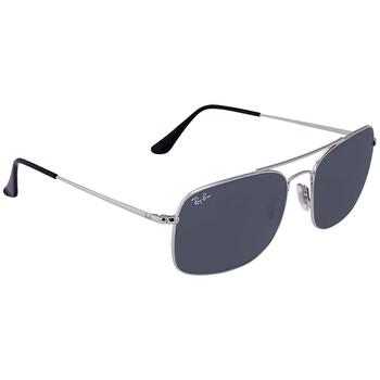 레이밴 스퀘어 선글라스 RayBan Blue Classic Square Sunglasses RB3611 003/R560