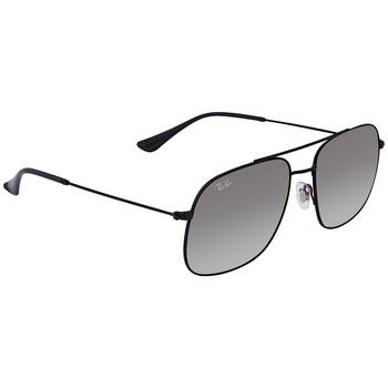레이밴 스퀘어 선글라스 RayBan RB3595 Grey Gradient Square Sunglasses