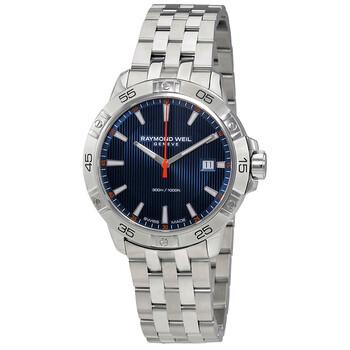 레이몬드웨일 시계 Raymond Weil Tango Blue Dial Mens Watch 8160-ST2-50001