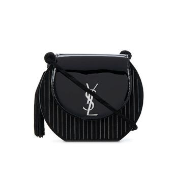 생 로랑 데미룬백 - 블랙 Saint Laurent Black Ladies Demi Lune Crossbody Bag 592096 0UFE2 1043