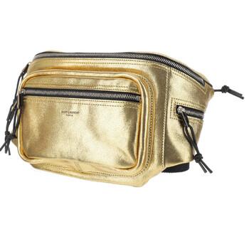 생 로랑 로고 벨트백 Saint Laurent Multicolor Logo Belt Bag